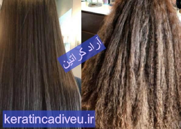 طرز استفاده کراتین مو