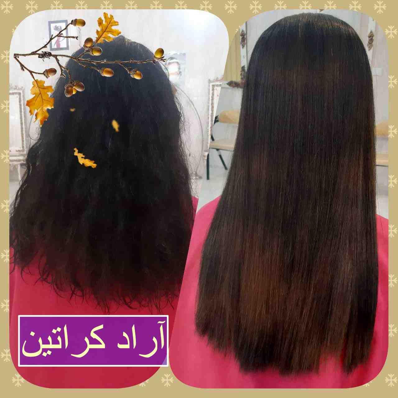 بهترین روش کراتین مو